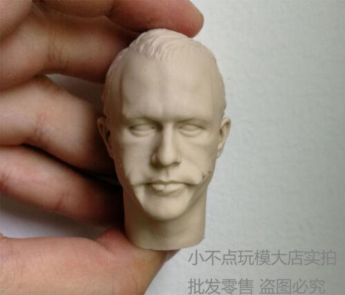 Free Shipping 1//6 scale Custom Head Sculpt Creg 5.0 Joker Heath Ledger unpainted