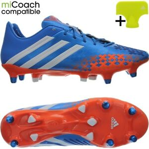 san francisco 763d8 9d134 Das Bild wird geladen Adidas-PREDATOR-LZ-XTRX-SG-blau-orange-Stollen-
