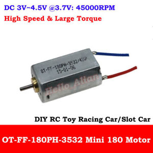 DC 3V 3.7V 43000RPM High Speed Strong Magnetic Micro N30 Motor DIY HM Toy Drone