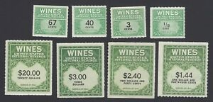 USA collection of Wine stamps (48)