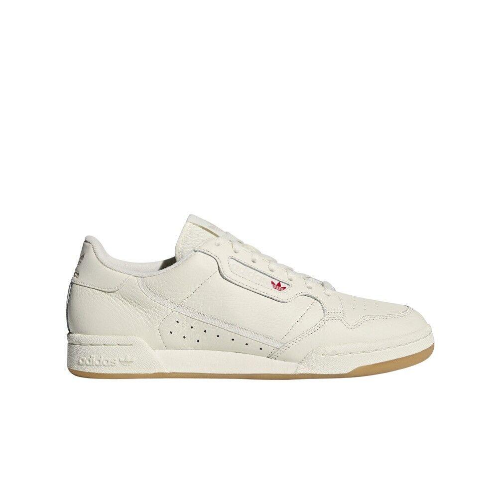 Adidas Originals Continental 80 (Off White Raw White Gum) Men's shoes BD7975