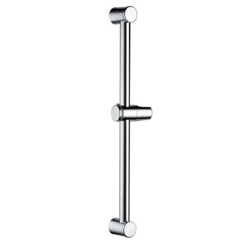 Round Bathroom Head Holder Adjustable Chrome Slider Shower Rail Riser Square