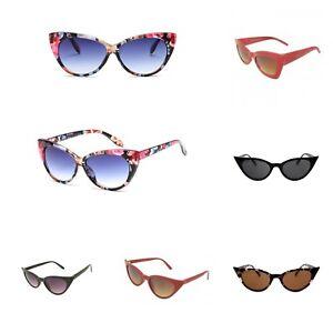 VTG 50s 60s Style womens Cat Eye Sunglasses Retro Rockabilly Glasses ... 2a818506b64a