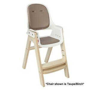 Outstanding Details About Oxo Tot Sprout Chair With Tray Cover Taupe And Birch Please See Details Beatyapartments Chair Design Images Beatyapartmentscom