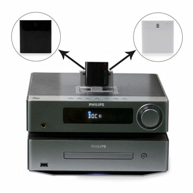 Bluetooth Music Audio Receiver Adapter for iPod iPhone 30Pin Dock Speaker Dock