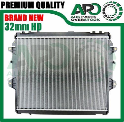 32mm HD Radiator For TOYOTA HILUX KUN16R KUN26R 3.0L Turbo Diesel Manual 2005-On