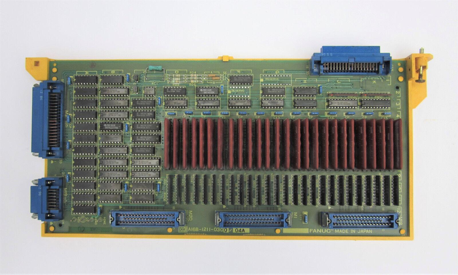 FANUC A16b-1211-0300/04a Control Board A16b1211030004a