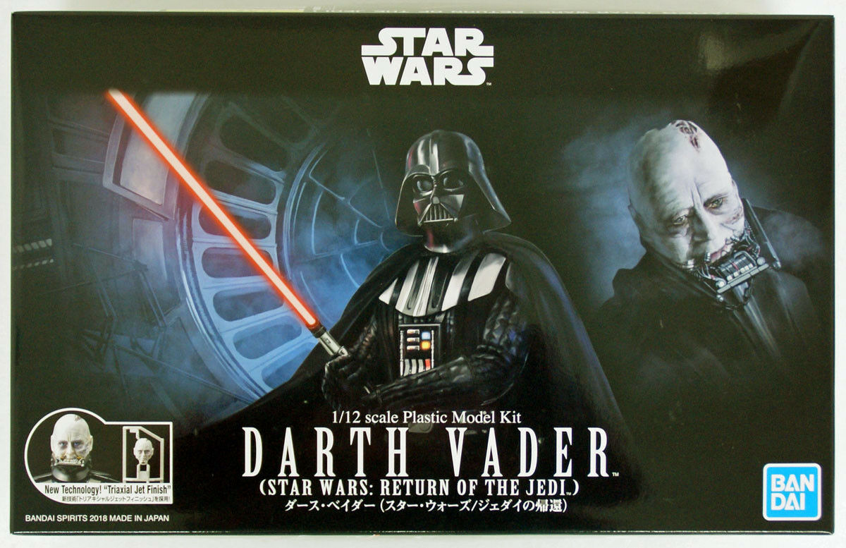 Bandai stjärnornas krig Dkonsth Vader (Jedi Ver.) 1  12 skala kit 555892