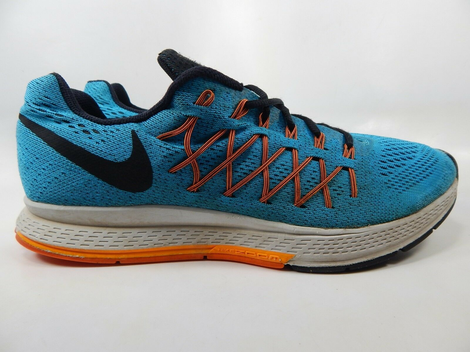 b0138b1f53f Nike Air Zoom Pegasus 32 Blue Orange Mens Running Shoes SNEAKERS ...