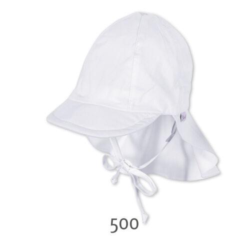 Sterntaler Visiere Protection UV Soleil avec protection nuque et bändel #19270