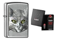 Zippo Cat Eyes 2.004.665 im Geschenkset
