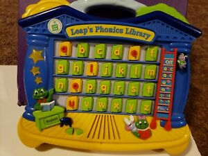 Leap Phonics Library Electronic Alphabet Learning Pad Toy ...