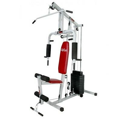 "4randed Lifeline Home Gym 2""Square Tube 18 Multiple Exercise Weight Fitness Sale"