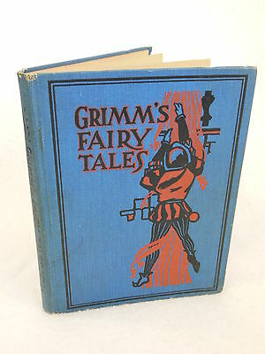 GRIMM'S FAIRY TALES Illustrated  M.A. Donohue & Company c.1920 HC