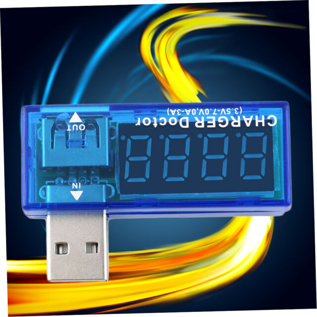 USB Charger Doctor Mobile Battery Tester Power Detector Voltage Current Meter FA