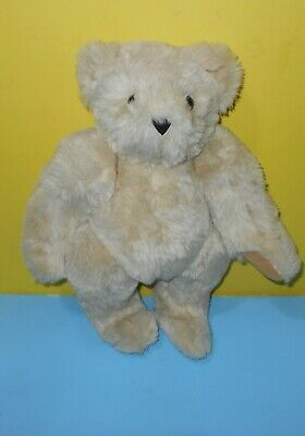 Vermont Teddy Bear Co Jointed Cocoa Bear Friend For Life Stuffed Plush Lovey