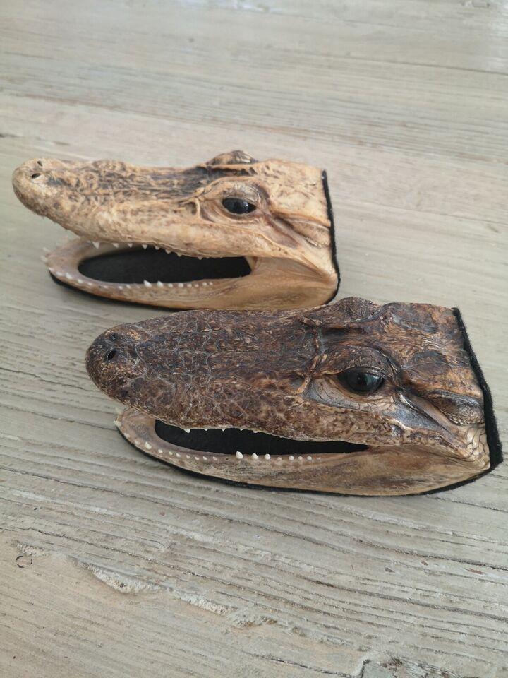 Andre samleobjekter, Alligator - ÆGTE