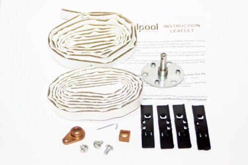 Véritable CREDA//HOTPOINT Sèche-Linge Tambour Shaft Bearing Kit pour TVR2 VTD00