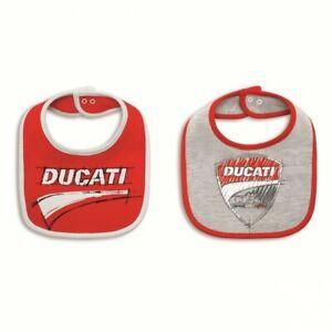à Condition De Ducati Corse Baby-bavoir 2er Set Corse Sketch Bébé Enfant Baby Bib 987697801-afficher Le Titre D'origine