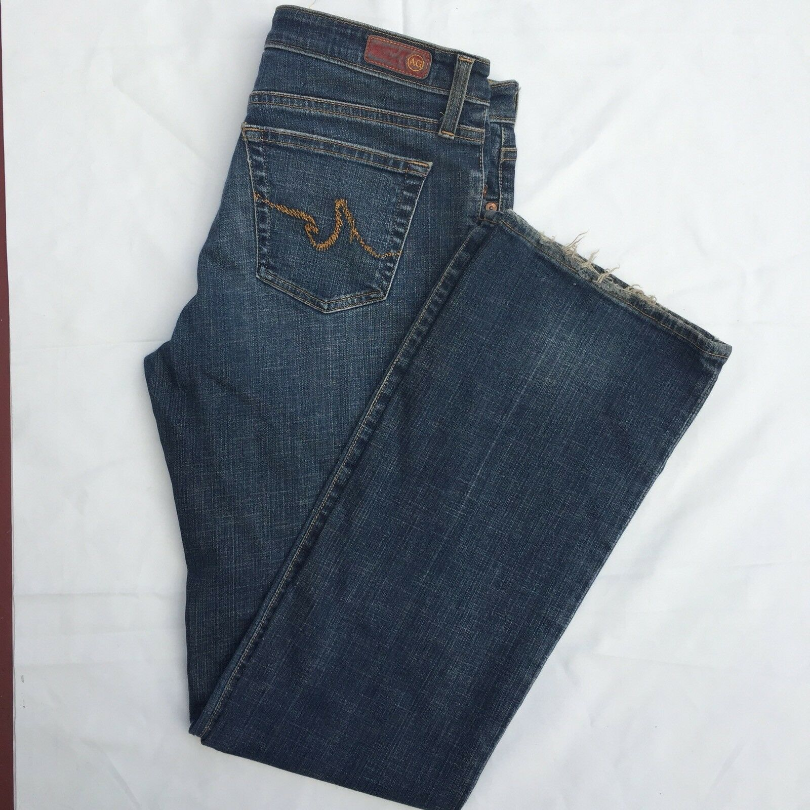 ADRIANO goldSCHMIED Size 32R The Angel Boot Cut Jeans