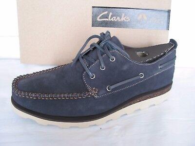 Nuevo Clarks Extra Luz Dakin fila Suave Gamuza Informal Zapatos Talla 7.5
