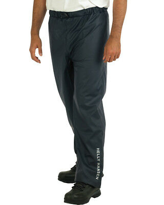 Helly Hansen Waterproof Trousers Workwear Durable Reflective Elastic Waist Men's