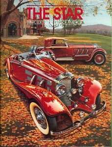 Image Is Loading 1986 The Star Magazine Mercedes Benz Club Of