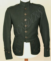 """Brand New Military Piper Drummer Doublet Tunic Green Jacket 100% Wool (30-56)"""""""