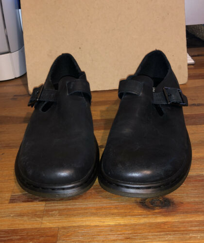 """DR MARTENS Women """"Patricia"""" Mary Jane Loafer sz 39"""