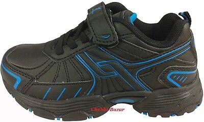 Pro Touch Bounce Kinder Schuhe Laufschuhe Sportschuhe Schwarz Blau Gr 22 - 35