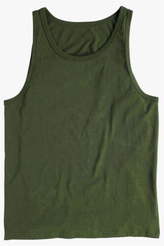 Brand New Mens Twin Pack Plain Sleeveless Training Gym Plain Tank Top Vest S-XXL