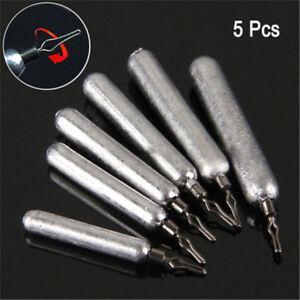 5Pcs-Drop-Shot-Poids-Sinker-Finesse-Pensil-Plomb-Basse-Pike-Perch-Fish-Tackle