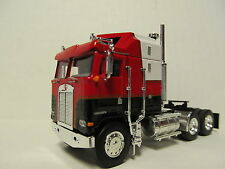 DCP 1/64 SCALE KENWORTH K100 AERODYNE CABOVER RED,BLACK & WHITE (TRACTOR ONLY)