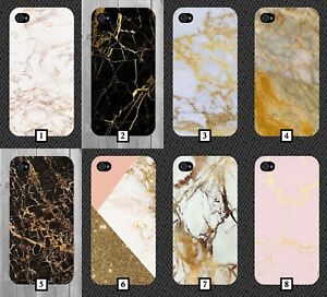 official photos fa8ac 42798 Details about Gold Marble Phone Case Golden Pink White Black Glitter Design  Cool Design 175