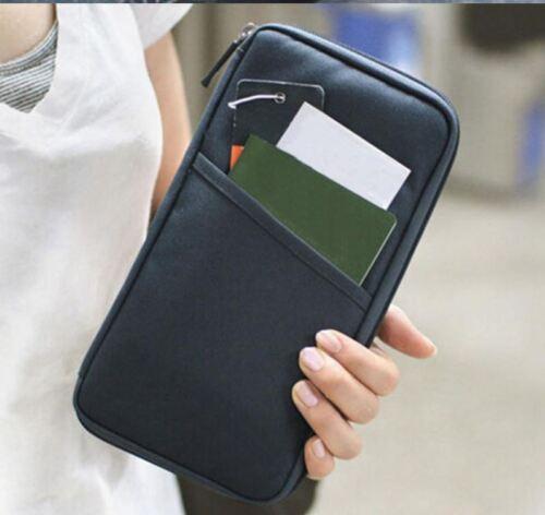 Etui Reisedokument Reispass Hülle Kreditkartenetui Card Passport Ausweishülle