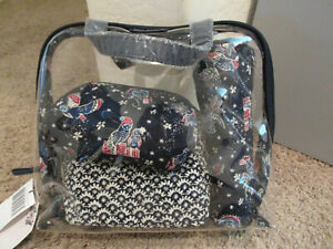 Cosmetische Pc Iconic Nwt set Owls Bradley 4 Holiday Vera qt1wxSIHn