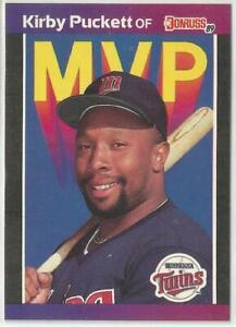 1989-DONRUSS-MVP-BC-1-KIRBY-PUCKETT-MINNESOTA-TWINS