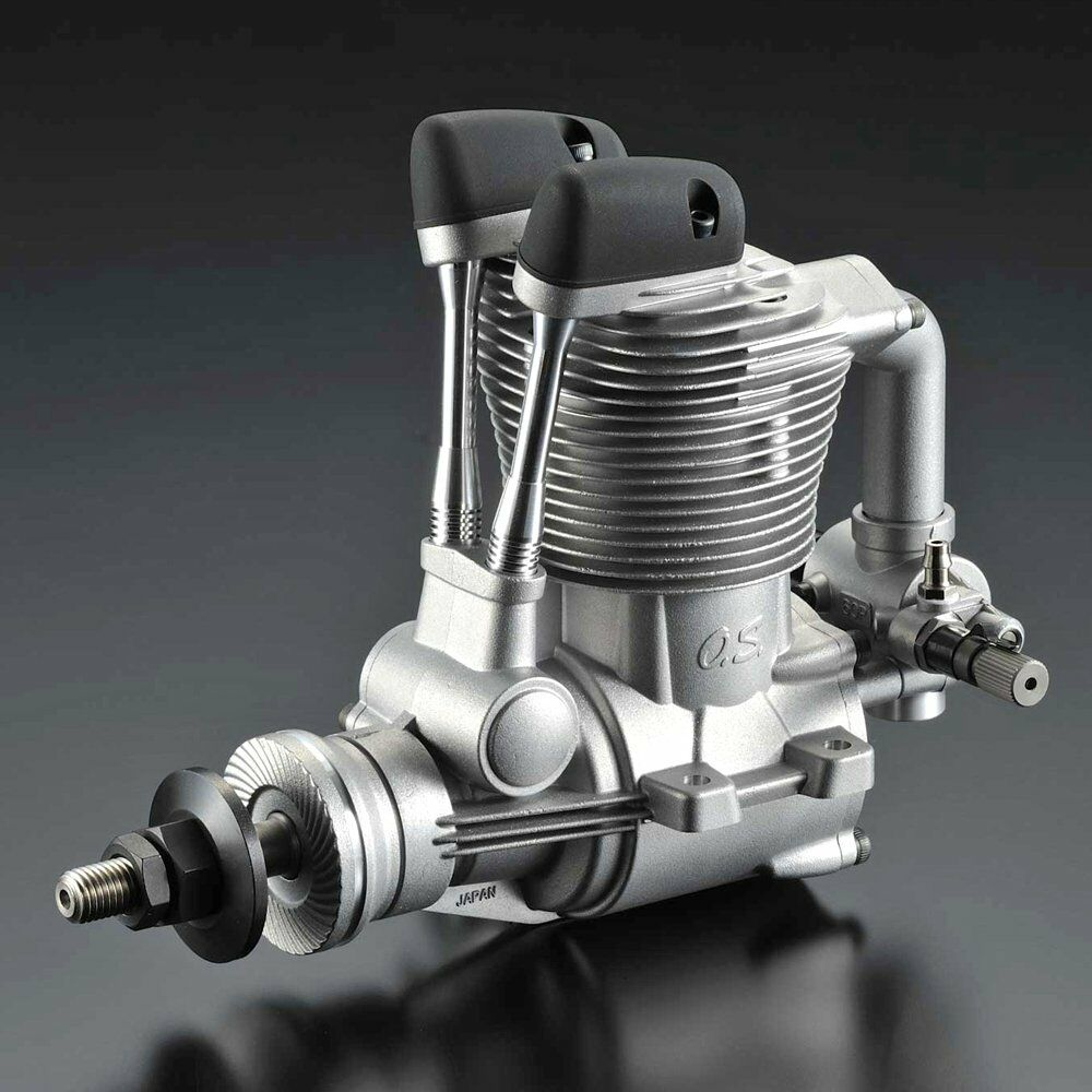 O.S. FS-95V 4-stroke RC Airplane Engine w F-5050 Silencer OS30900