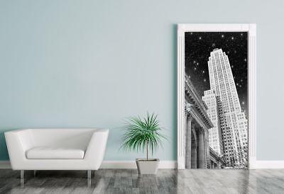 Mutig Türaufkleber New York In Der Nacht Fototapeten