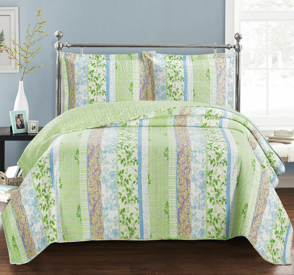3-PC Hayley Oversize Ultra Soft & smooth Coverlet 100% Microfiber