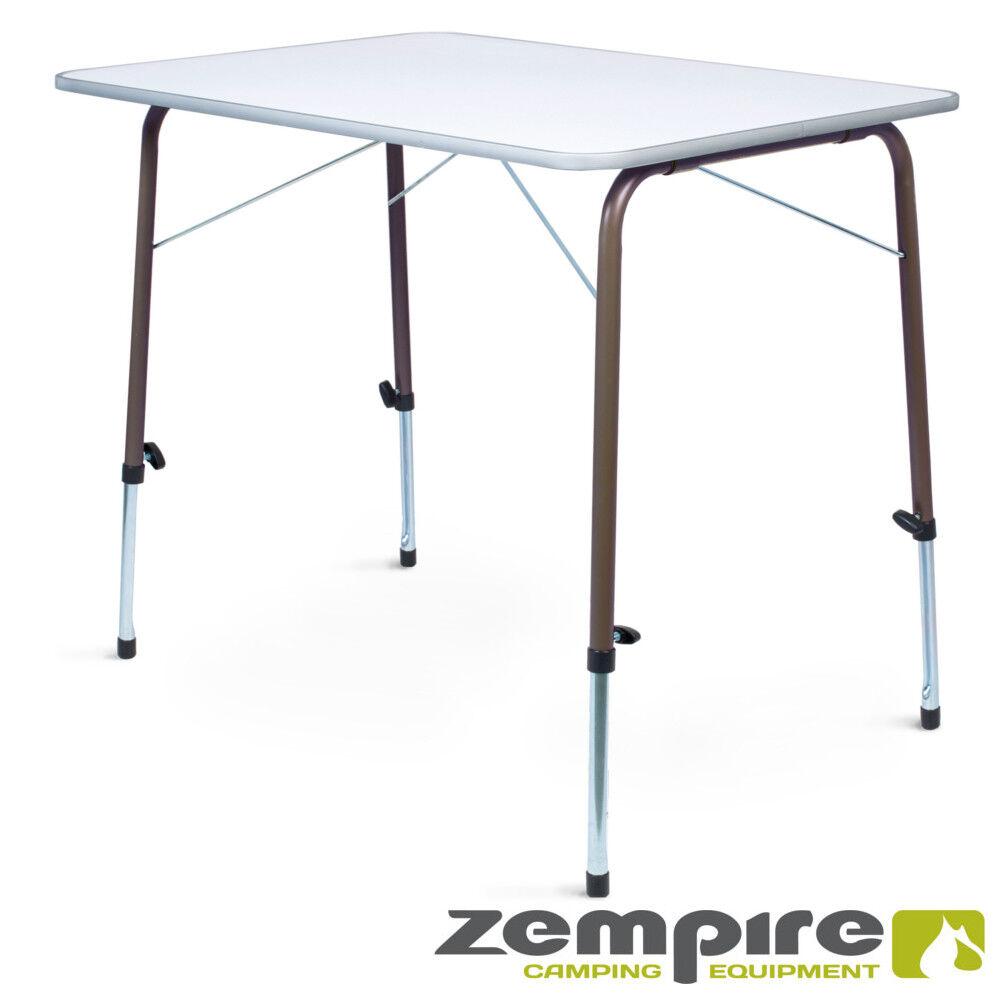 Campingtisch ROBUST STABIL höhenverstellbar Klapptisch Falttisch Tisch Garten
