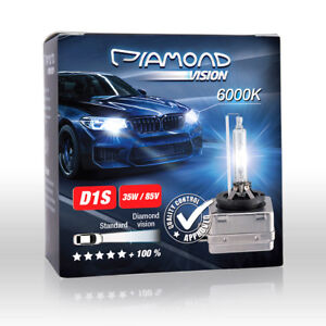 AUDI A6 C6 4F Avant Seitronic® NEU 2 x D1S 8000K XENON BRENNER BIRNE LAMPE