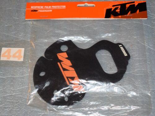 Paire de protection de paume néoprène KTM pour gants moto neuf