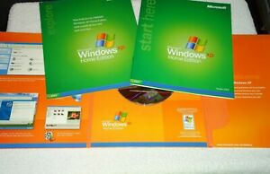 Windows XP Home Edition OEM 2002 Full Version CD with SP2 ...