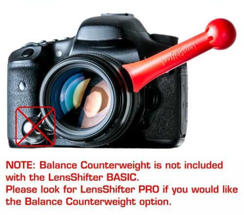 mirrorless video zoom for dslr photography LENSSHIFTER RED BASIC follow focus