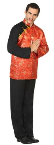 Mens Oriental Chinese Japanese International Fancy Dress Costume Outfit M-XL