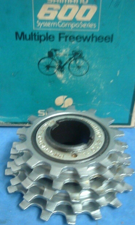 Shimano 600 UniGlide 13T-17T  MF-6151 5-Spd Road Freewheel NEW NOS-Vintage- NIB  incredible discounts