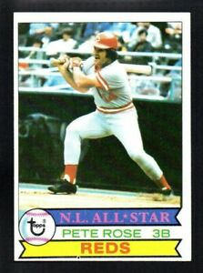 PETE-ROSE-reds-1979-TOPPS-650-NEARMINT-OC-SHARP-CORNERS-NO-CREASES