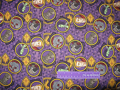 Marvel Guardians Of The Galaxy Gang Gamora Quill Cotton Fabric BY THE HALF YARD
