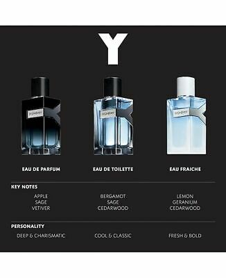 Ysl Y Edt Edp Live Or Eau Fraiche Decant Sample Spray Free Gift Ebay